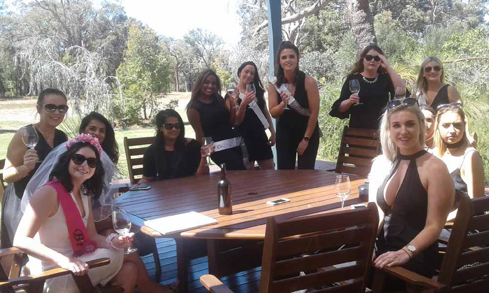 hens party margaret river